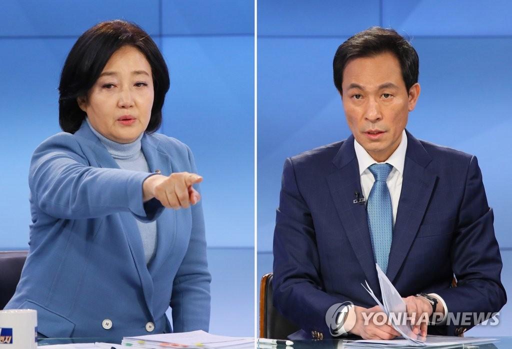 박영선 중앙예방접종센터 방문…우상호 청년정책 발표