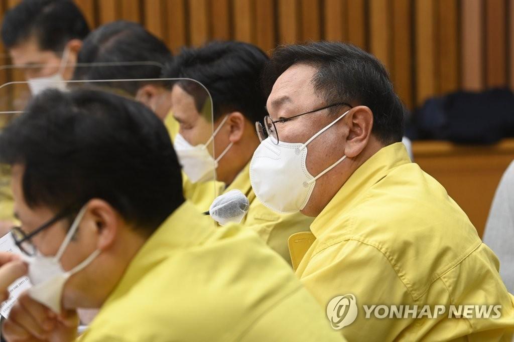"""與 """"MB 불법사찰, 물타기 말라…DJ·盧 언급 궤변"""""""