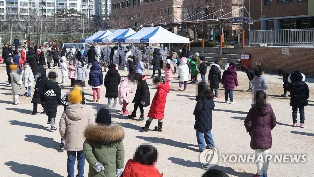 울산서 초등학교 급식종사자 5명 확진…학생·교직원 638명 검사