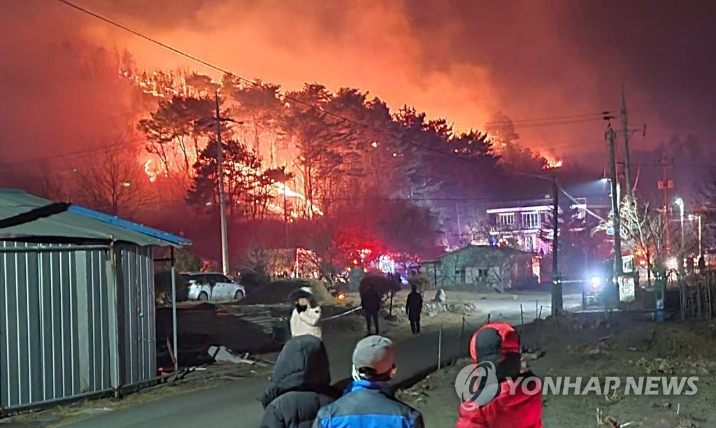 양양산불 6시간 만에 진화…산림 6.5㏊ 소실(종합2보)