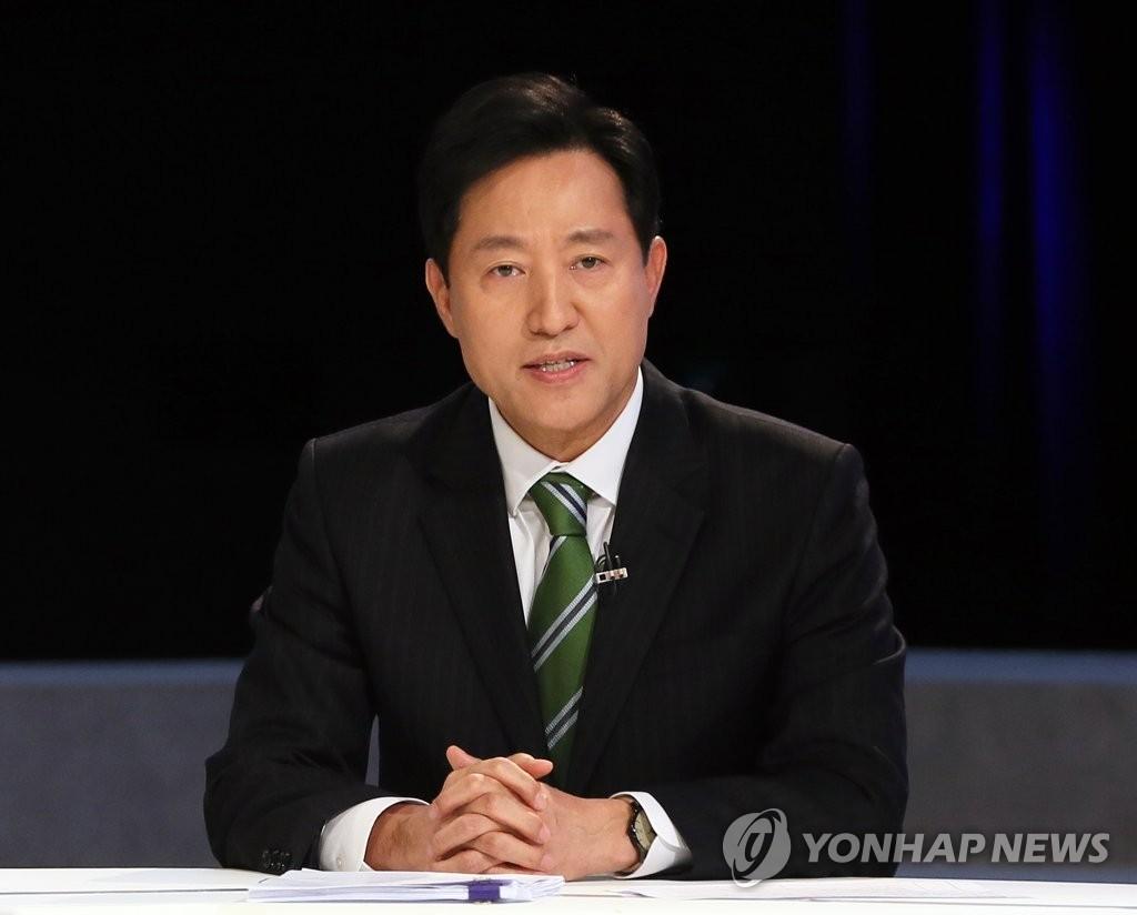 """오세훈 """"강경보수 나경원, 안철수와 단일화 쉽지않아"""""""