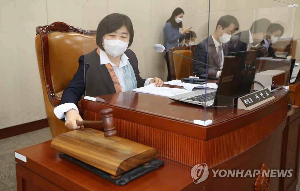'김명수 지명' 박순영 선관위원 논란…野 퇴장속 청문회 의결(종합)