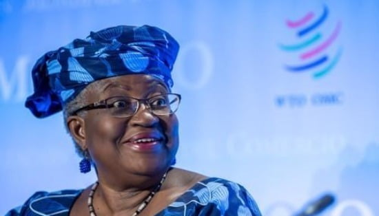 세계무역기구(WTO) 새 수장에 나이지리아 출신 응고지 오콘조이웨알라(66·여)가 선출됐다. 사진=EPA