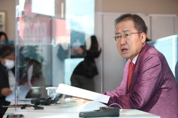 홍준표 무소속 의원. /사진=연합뉴스