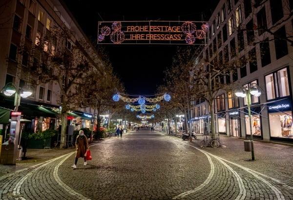 독일 프랑크푸르트 시내 거리/사진=AP