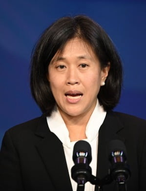 대만계 미국인인 캐서린 타이(45) 미국 무역대표부 대표. / 사진=연합뉴스