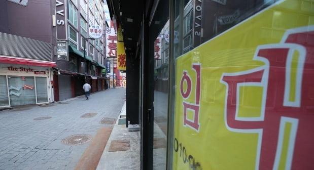 폐업 속출하는 명동에는 빈 점포만 (사진=연합뉴스)