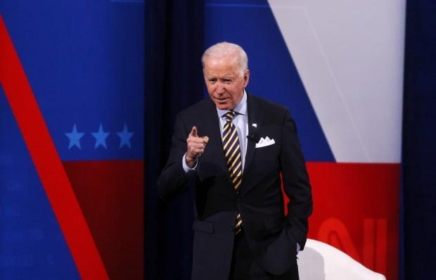 조 바이든 미 행정부 출범 후 첫 한미일 3자 회의가 열렸다. 사진=REUTERS