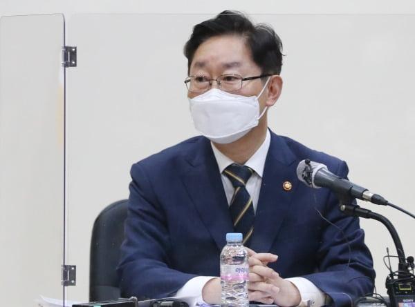 """박범계 """"저는 법무장관이기에 앞서 여당 의원"""""""