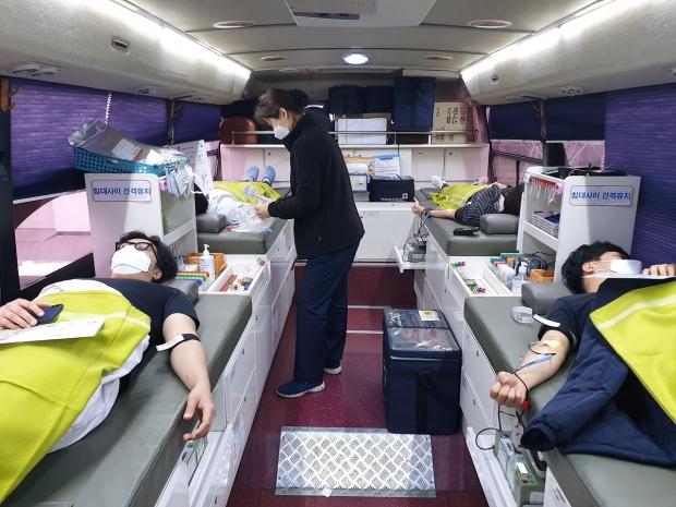 롯데중앙연구소 '사랑의 헌혈' 동참