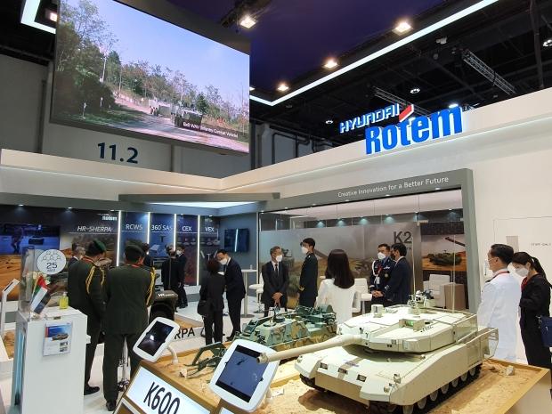 현대로템, 중동 국제방산전시회 'IDEX 2021' 참가