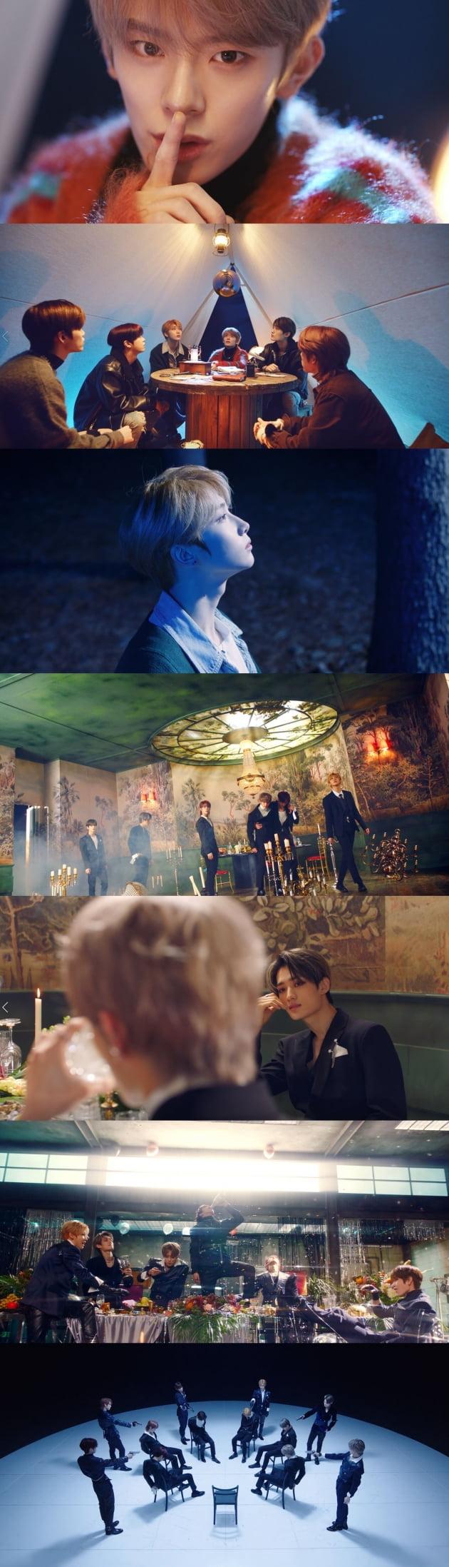 그룹 베리베리 /사진='Get Away' 뮤직비디오 화면 캡처