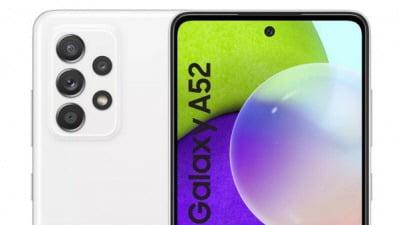 삼성전자 스마트폰 '갤럭시A52' 렌더링 사진. WinFuture.