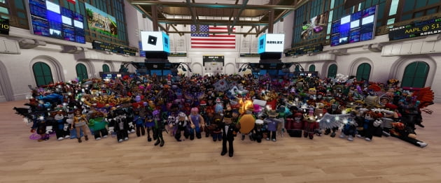 '미국 초딩 놀이터' 로블록스, '메타버스' 붐에 54% 폭등