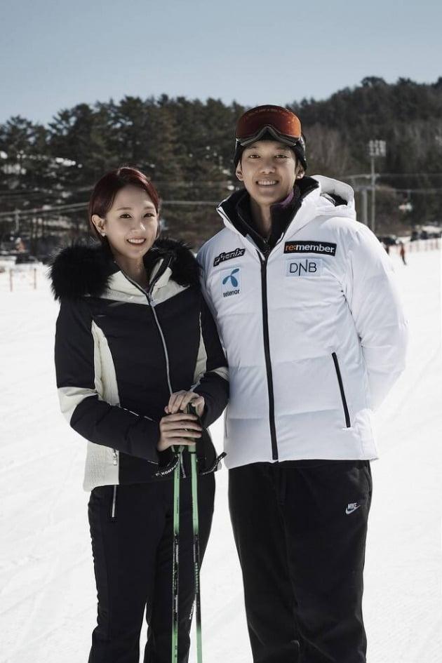 오정연 박재민 / 사진 = 대한스키협회 제공