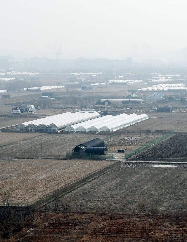 11일 오후 3기 신도시인 계양 테크노밸리가 들어설 예정인 인천시 계양구 동양동 일대. 인천 계양지구는 오는 7월부터 사전청약이 시작된다. /연합뉴스 제공