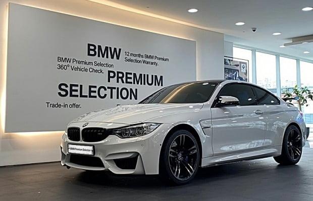 BMW 프리미엄 셀렉션(BPS)으로 판매되는 BMW 인증 중고차 모습. 사진=BMW코리아