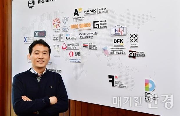 이준재 한남대 창업지원단장. 사진=이승재 기자