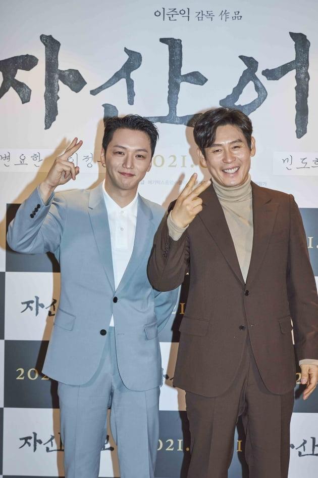 영화 '자산어보'에 출연한 변요한 설경구 /사진=메가박스중앙(주)플러스엠
