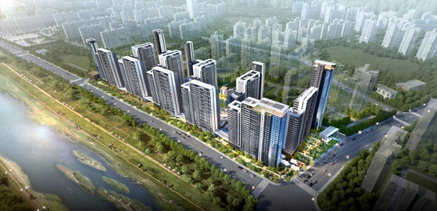 쌍용건설 컨소시엄, '광명철산 한신아파트' 리모델링 맡는다