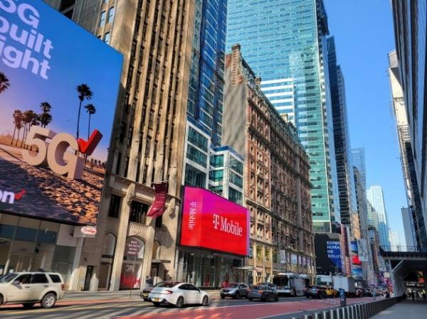 미국 뉴욕 맨해튼의 최근 거리 모습. 백신 배포 확대로 경제 재개에 대한 기대가 어느 때보다 크다. 뉴욕=조재길 특파원