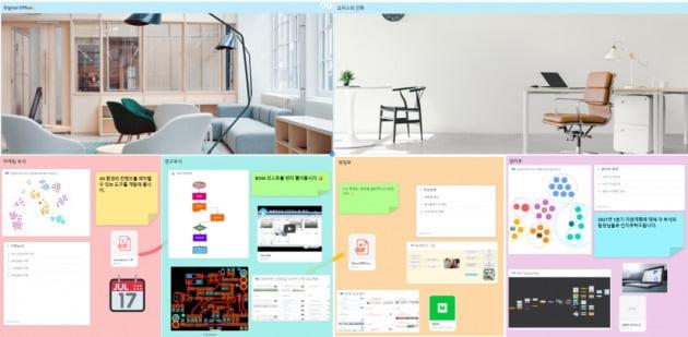 협업툴 아요아의 화이트보드