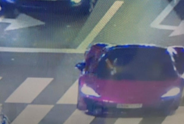 피해 주장 남성이 공개한 CCTV 화면./ 사진=보배드림