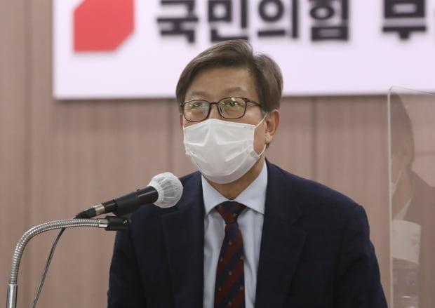 박형준 국민의힘 부산시장 보궐선거 후보. 사진=뉴스1