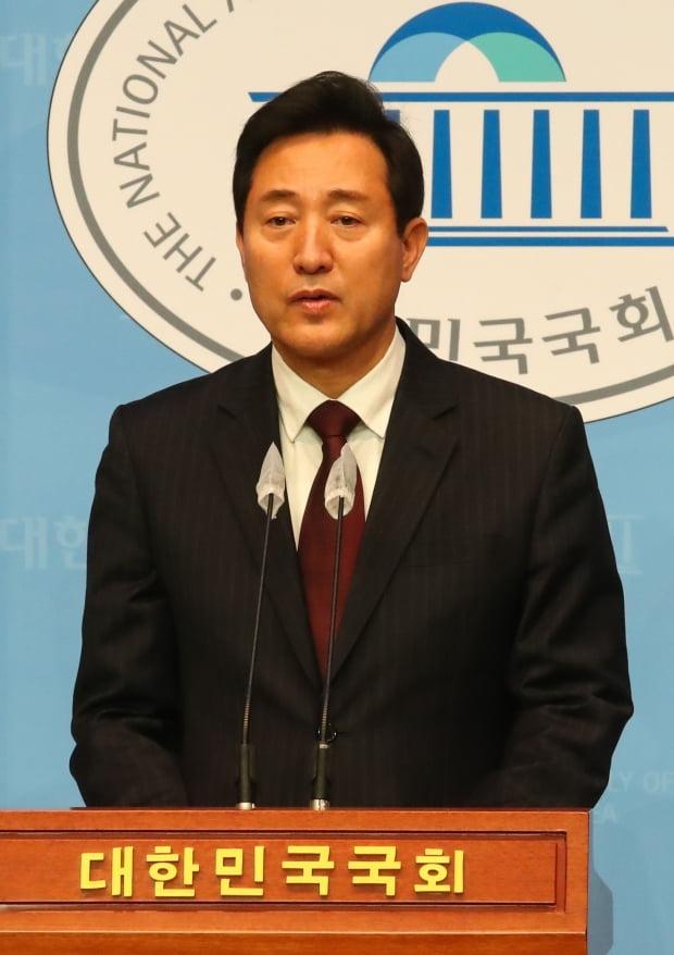 오세훈 서울시장 보궐선거 야권 단일 후보. 사진=연합뉴스