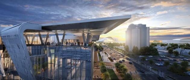 오는 6월 세계 최대 건설장비 및 기술 박람회 '월드 오브 콘크리트(world of concrete)' 가 열리는 라스베이거스 컨벤션센터(LVCC) 웨스트홀.