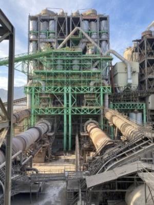 쌍용C&E 동해공장 생산혁신설비