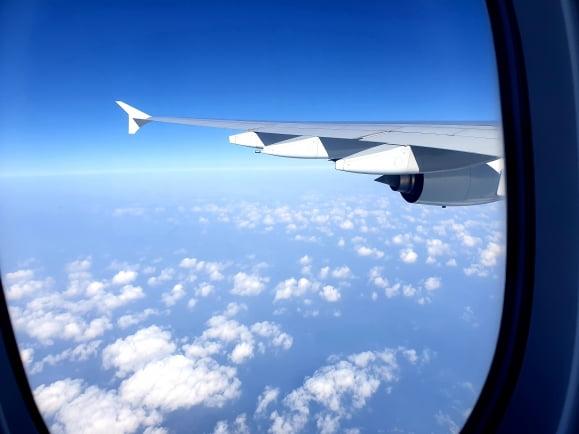 코로나19 장기화에 대응한 '무착륙 비행'도 활성화하고 있다./사진=한진관광 제공