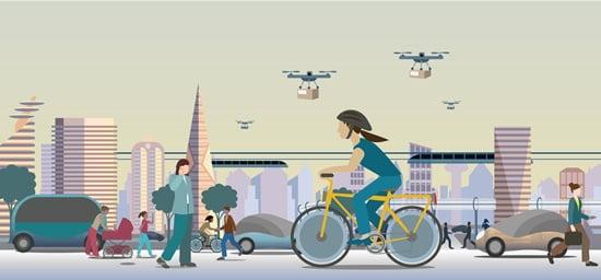 자전거의 역주행, 모빌리티의 변화 주목하라
