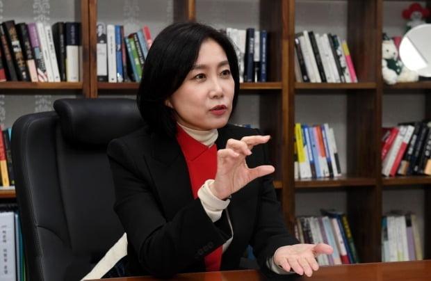 허은아 국민의힘 의원 /사진=최혁 한경닷컴 기자 chokob@hankyung.com