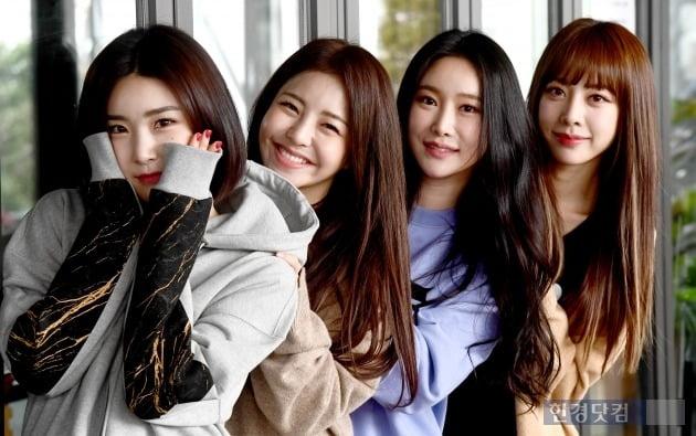 그룹 브레이브걸스/ 변성현 한경닷컴 기자