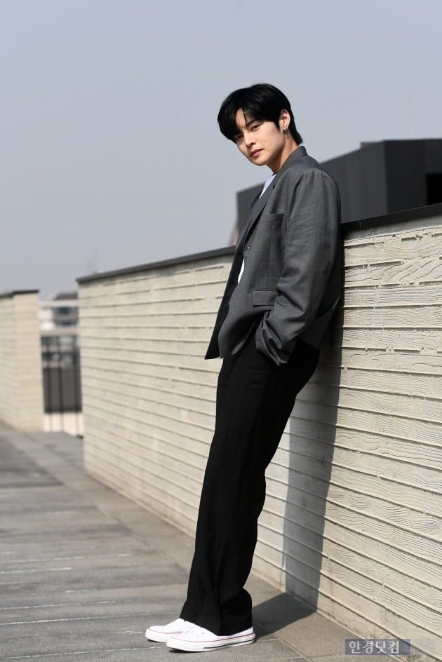 그룹 싸이퍼 휘 /사진=변성현 기자