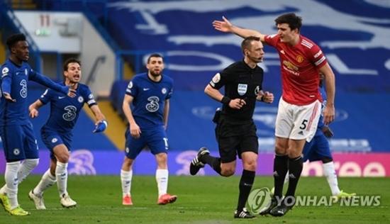 '헛심 공방' 첼시 vs 맨유, 0-0 무승부