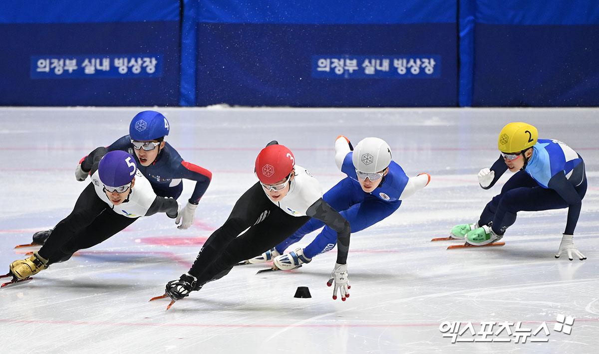남자 일반부 1000m 결승, 치열한 접전[포토]