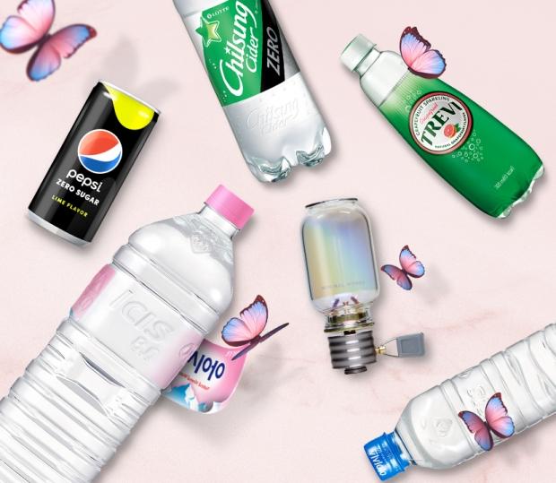 롯데칠성음료, 3월 7일 네이버와 협업을 통해 친환경 메시지 담은 브랜드데이 및 쇼핑라이브 진행