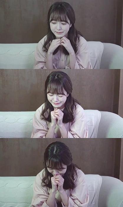 네이처 소희, 눈물 영상 화제…애절한 감성에 네티즌들 호기심 '증폭'