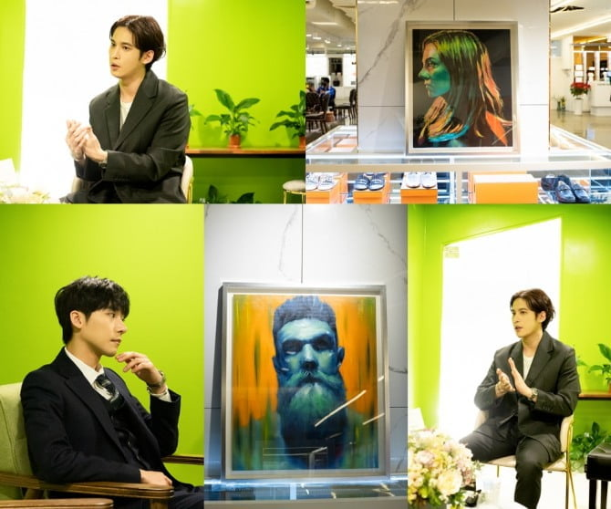박기웅, 화가로 데뷔 앞둬…박해진 소속사 마운틴무브먼트와 화가 에이전트 계약