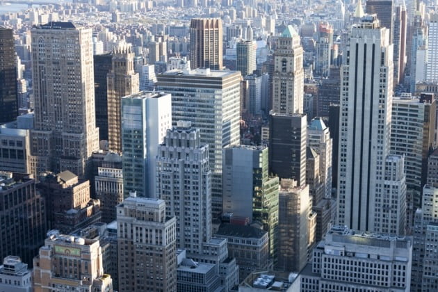 거래가격이 미국 내 10위 밖으로 밀려난 뉴욕시 전경. / 사진=게티이미지뱅크