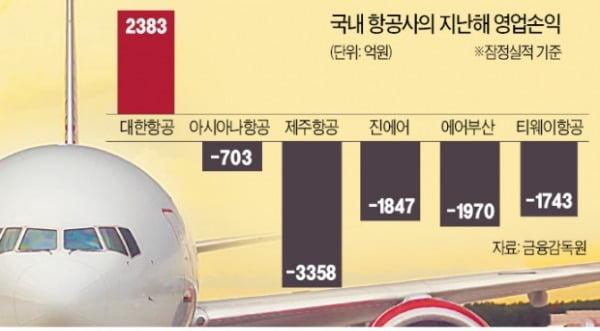 """""""항공업계 올해도 '난기류' 계속된다"""""""