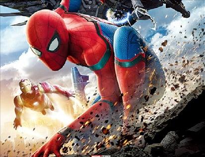 영화 사업 등을 확대하고 있는 소니의 '스파이더맨' 시리즈의 한 장면.