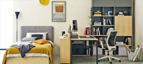"""한샘, 거실은 아늑하게 침실은 호텔처럼…""""집콕 시대, 집의 가치 높이세요"""""""