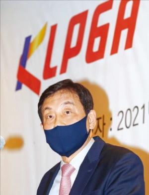 """김정태 KLPGA 회장 """"KLPGA, 2025년 '글로벌 빅2 투어'로 만들겠다"""""""