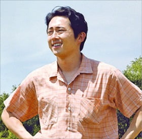 오스카 남우주연상 후보에 오른 스티븐 연.
