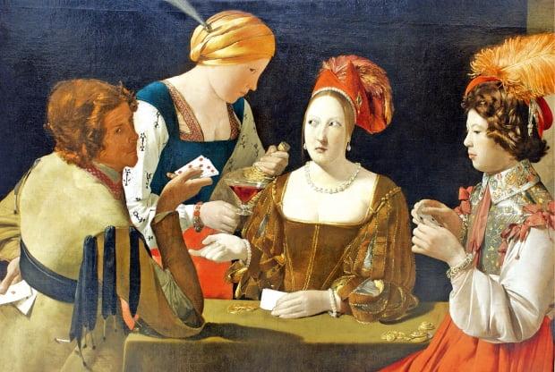 프랑스 화가 조르주 드 라투르(1593~1652) '다이아몬드 에이스의 사기꾼'