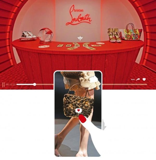 디지털 패션쇼, 빨간 맛을 보다