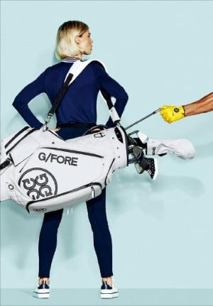 코오롱FnC, 필드 위 패션 모델인 줄…럭셔리 골프 브랜드 '지포어' 반응 뜨겁네